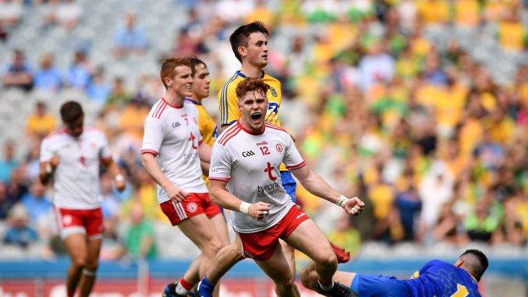 Tyrone ran out comprehensive winners when the sides met in Croke Park last year
