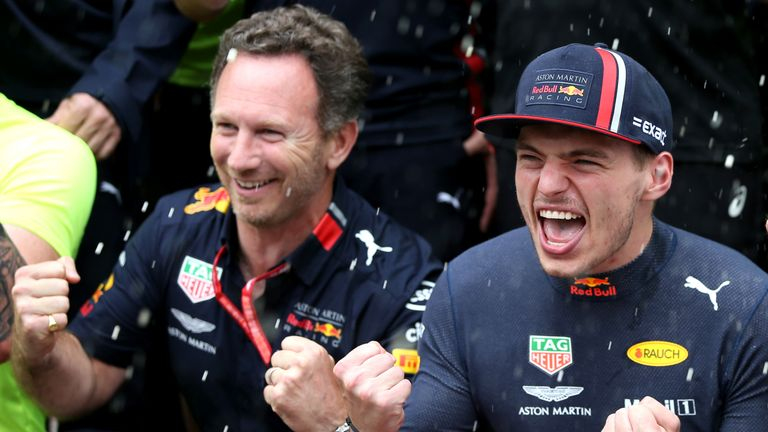Max Verstappen 'really happy' at Red Bull: Watch exclusive on Sky F1