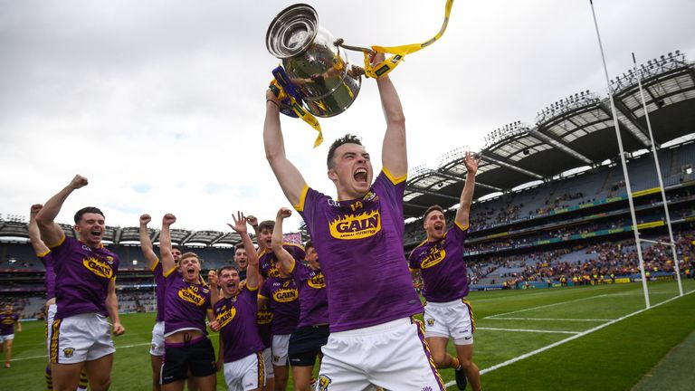 Wexford won their first Leinster title since 2004 last month