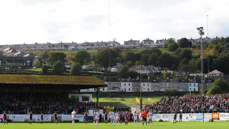 Whitehaven's plans to build a new stadium in time for the 2013 World Cup fell through as well