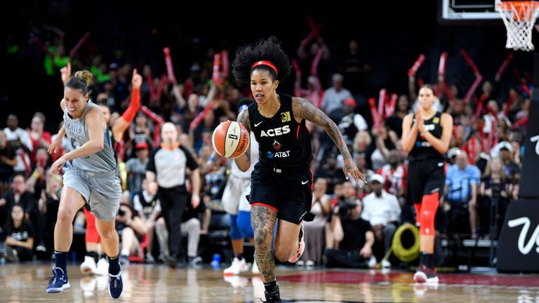 Las Vegas Aces v Minnesota Lynx in the WNBA