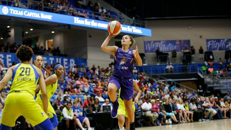 PHOENIX MERCURY DALLAS WINGS WNBA