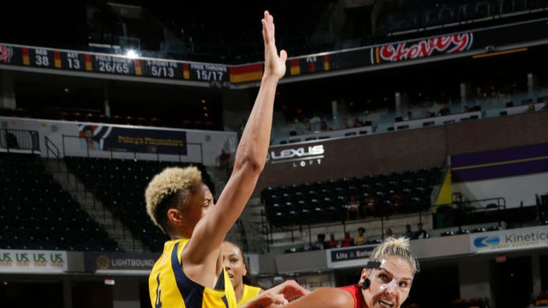 Washington Mystics v Indiana Fever in the WNBA