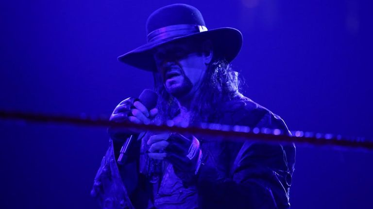 The Undertaker will be keen to expunge the memory of his match against Goldberg as quickly as possible