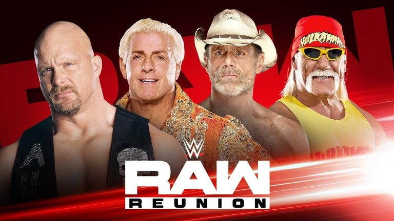 WWE legends return for Raw Reunion on Sky Sports Arena
