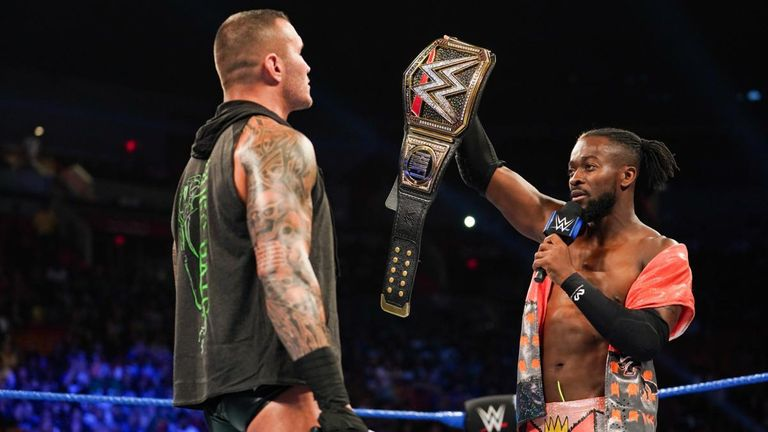 A victory over Orton would go a long way in solidifying Kingston's status as WWE's top guy