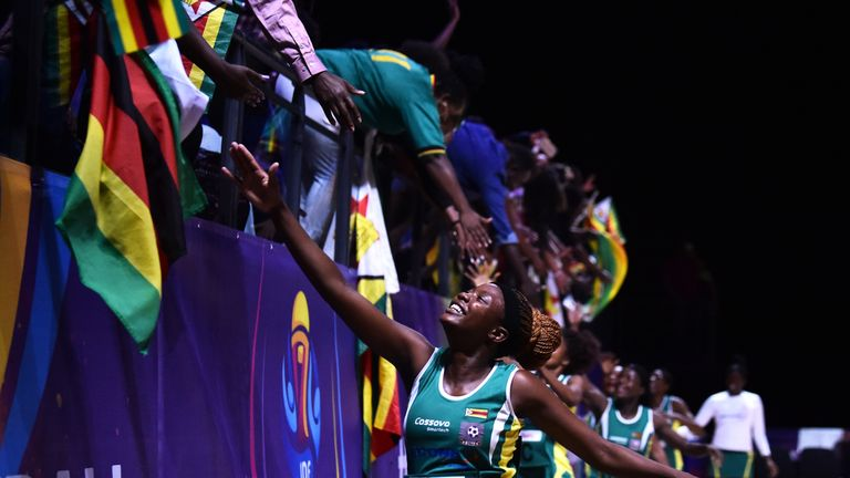 Zimbabwe made quite an impression at their first Netball World Cup