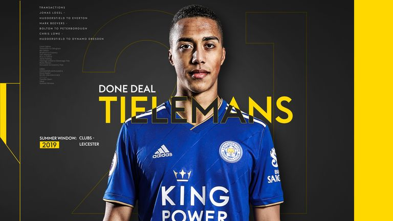 Tielemans Done Deal