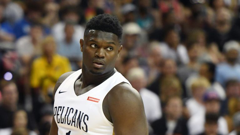 Zion Williamson relishing opening phase of pro career with New Orleans Pelicans | NBA News |
