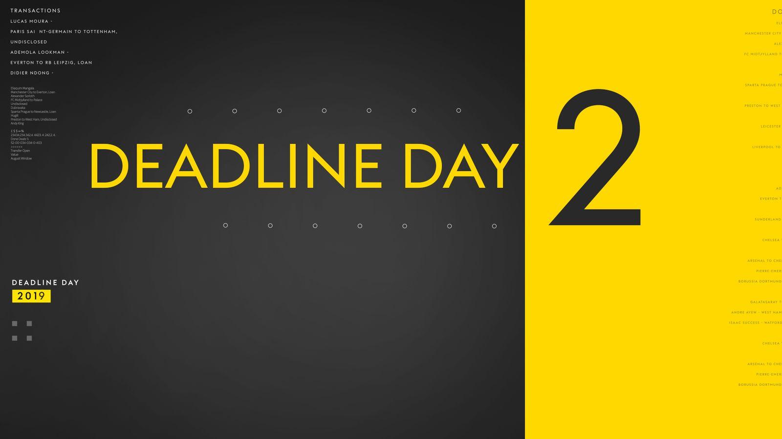 Follow 'Deadline Day 2' with Sky Sports
