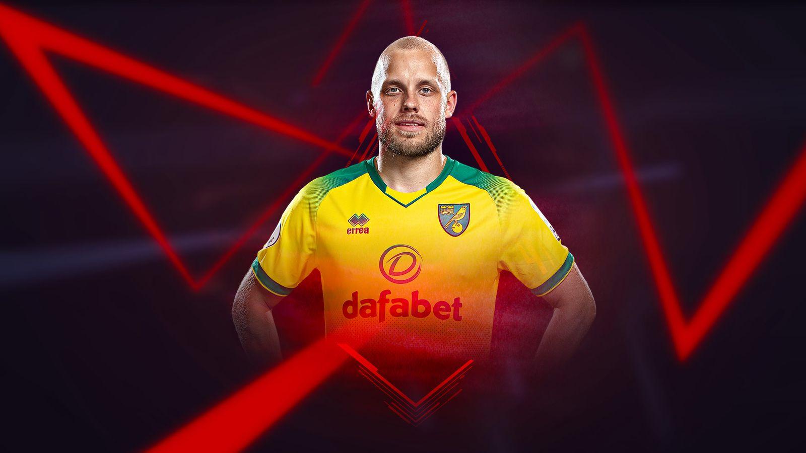 Norwich City tiền đạo Teemu Pukki