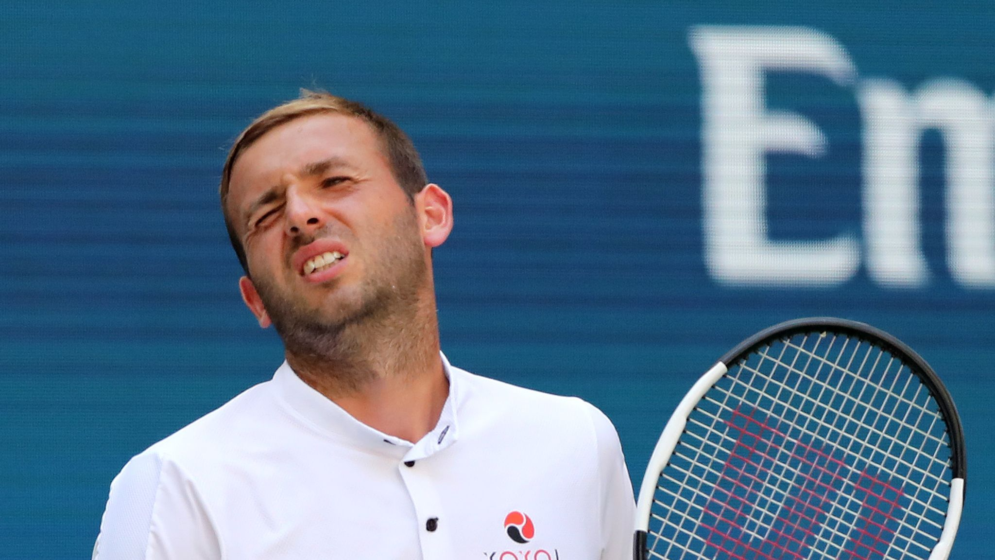 Dan Evans out of Stockholm Open in second round