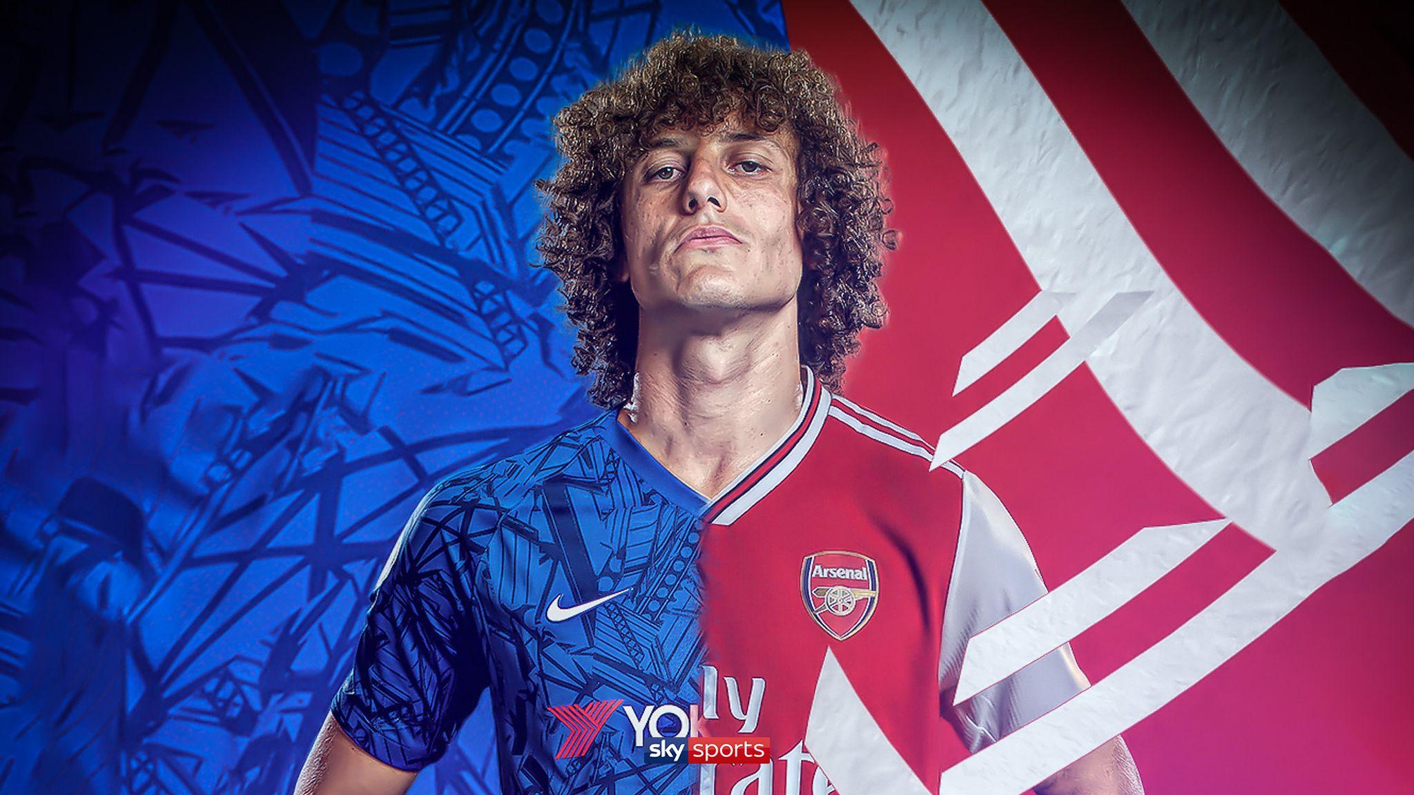 Kết quả hình ảnh cho David Luiz arsenal và Chelsea