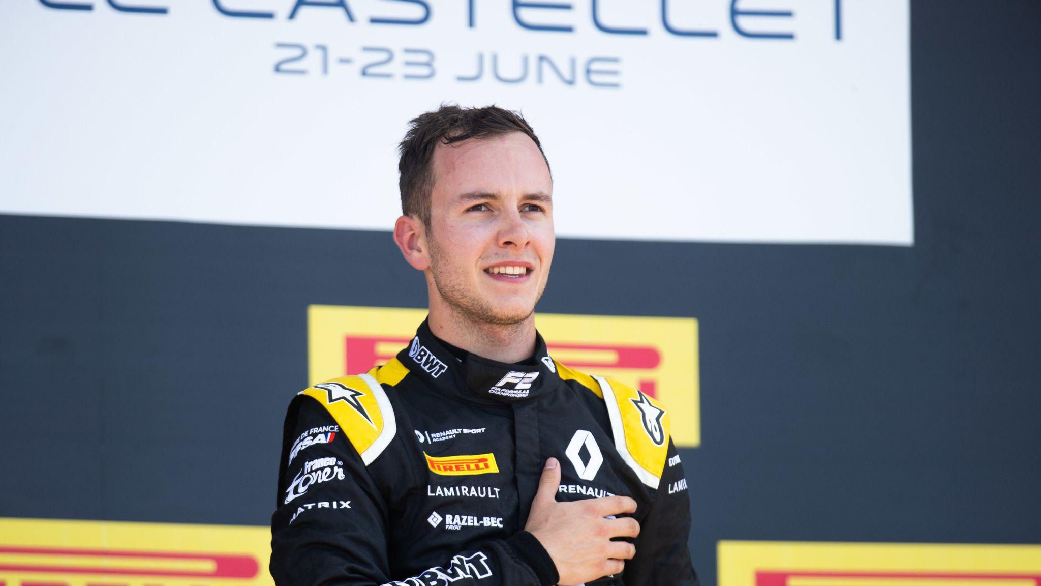 Anthoine Hubert: Lewis Hamilton leads tributes to 'hero' F2