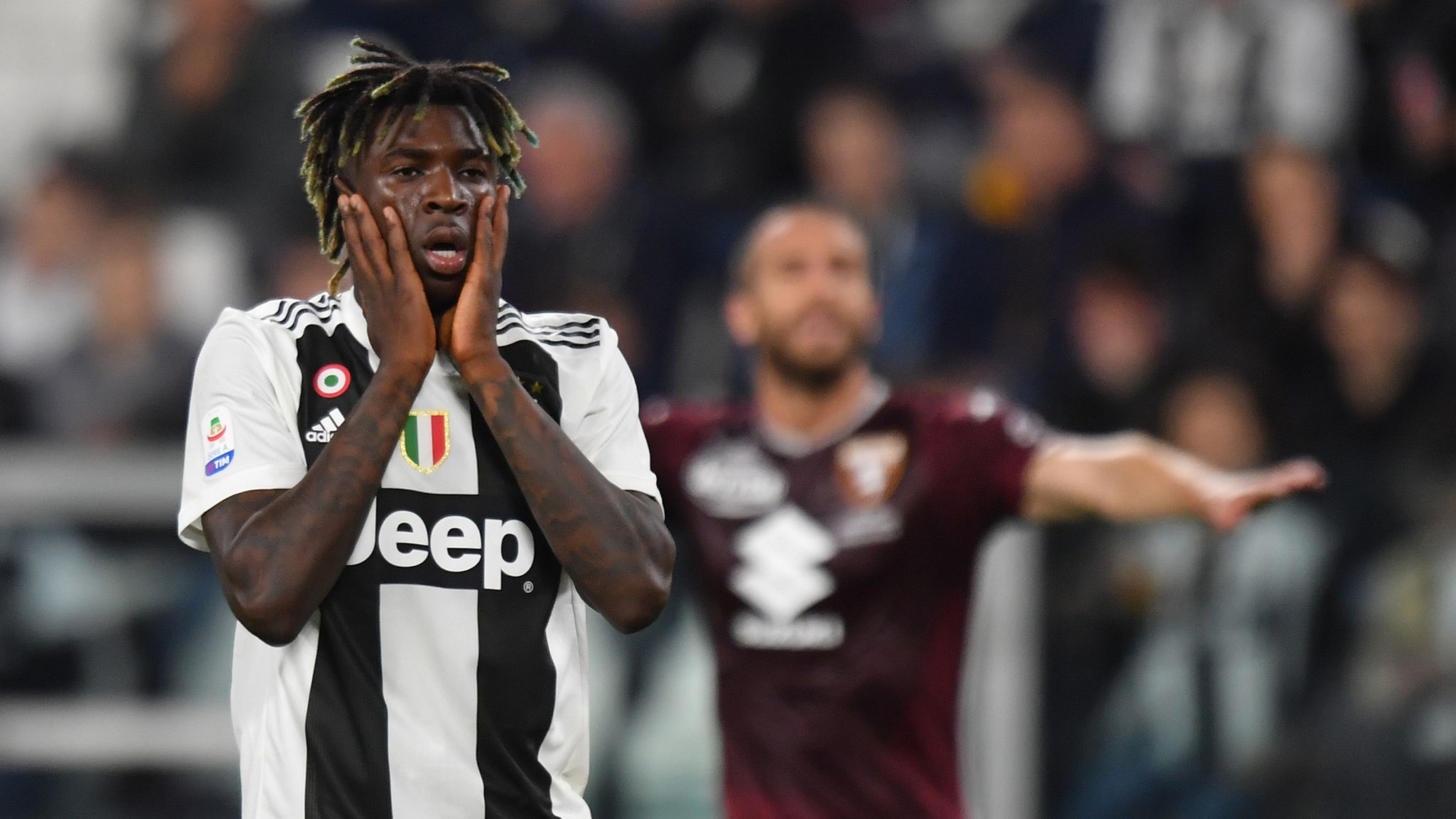 Moise Kean: Father claims striker's transfer to Everton was a 'mistake'