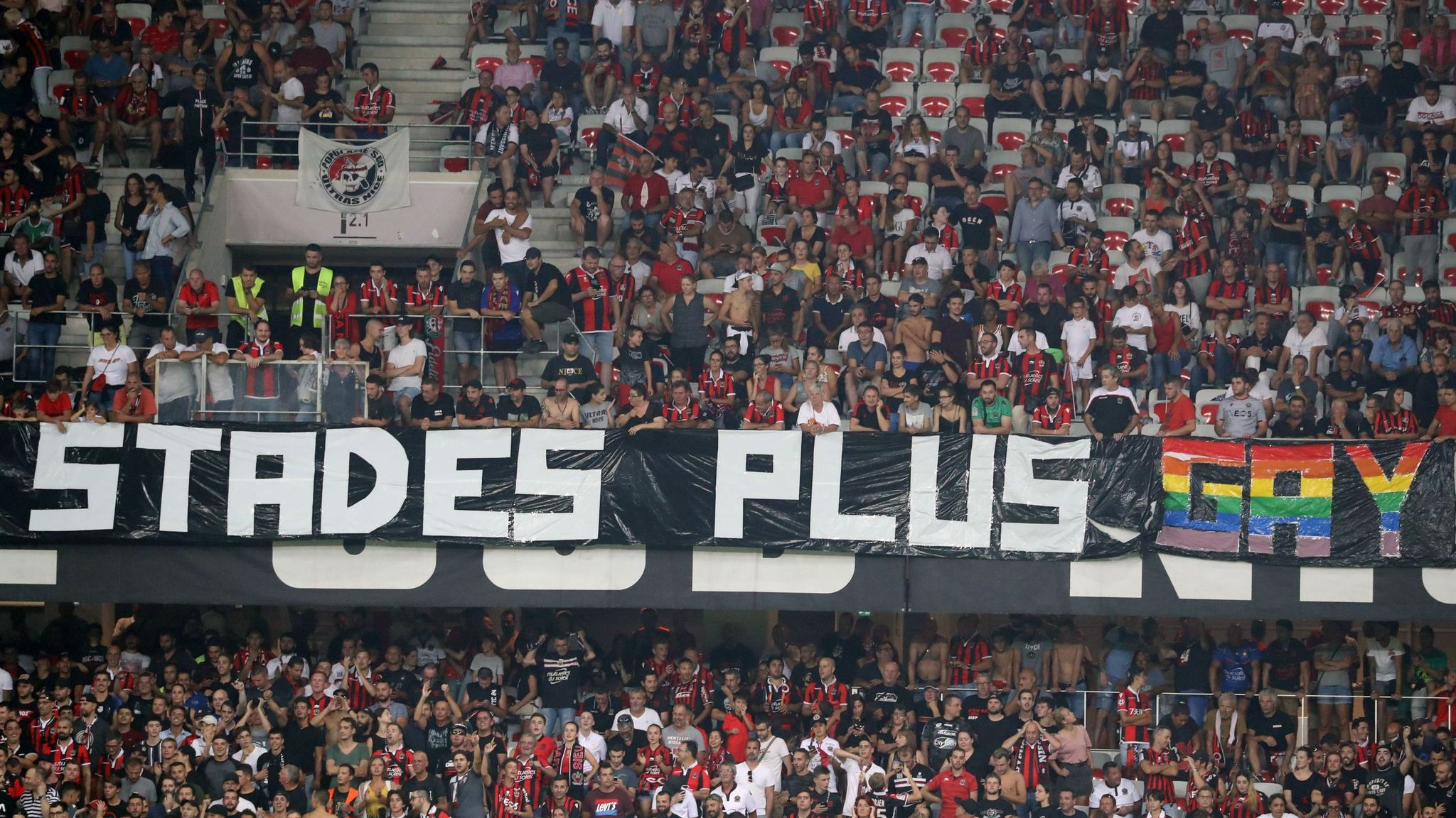 Image result for anti gay in france stadium