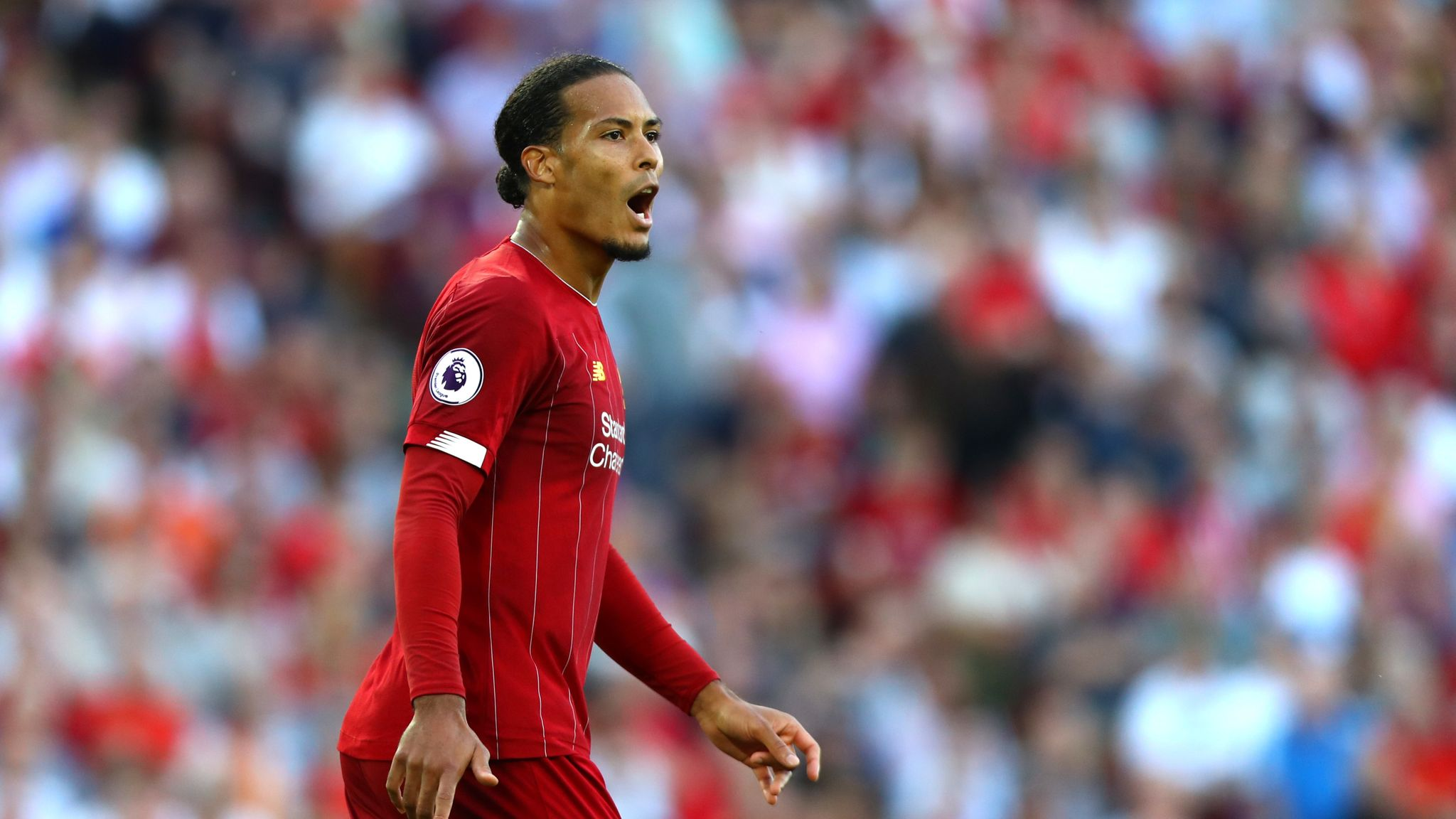 Virgil van Dijk: Liverpool have nothing to lose in Premier League title race