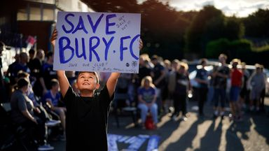 Bury given two-week reprieve