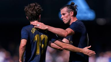 Gareth Bale played 75 minutes in Real Madrid's 3-1 win at Celta Vigo