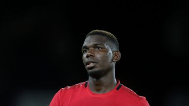 Paul Pogba was subjected to racial abuse on social media after Monday's game