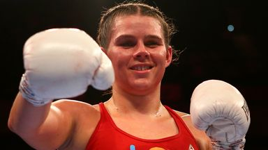 Image from Savannah Marshall: Is Britain's undefeated world champion the hardest punching female fighter in the world?