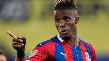 fifa live scores - Wilfried Zaha admits head was 'all over place' after failed exit from Crystal Palace