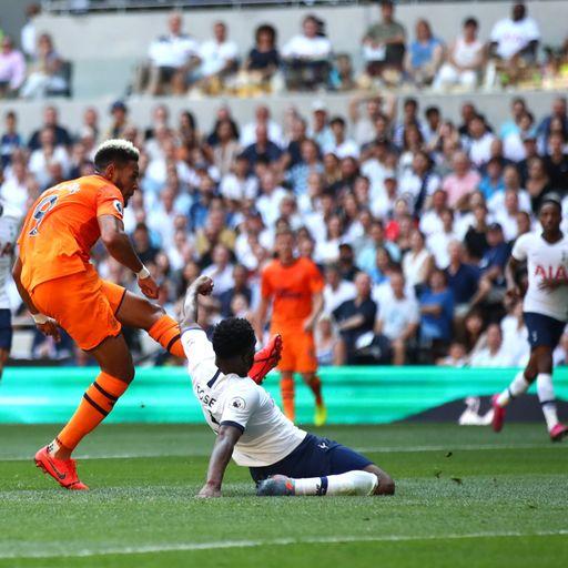 Match report: Tottenham 0-1 Newcastle: