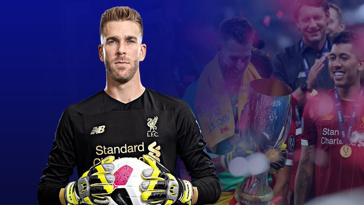 Adrian picked up silverware with Liverpool in his first start for the club