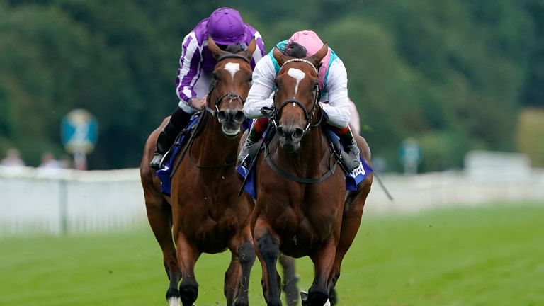 Enable has the measure of Magical in the Darley Yorkshire Oaks