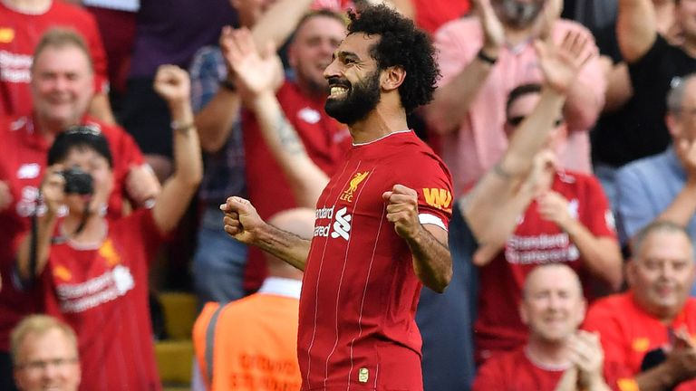 Highlights from Liverpool's 3-1 win over Arsenal in the Premier League on Saturday