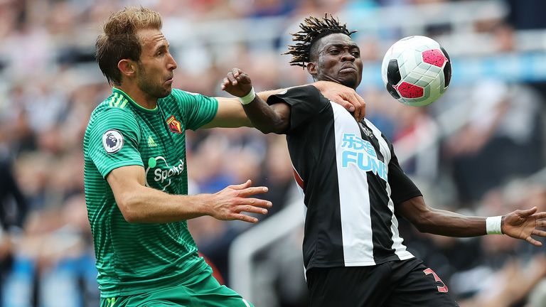 Highlights from Newcastle's 1-1 draw with Watford in the Premier League