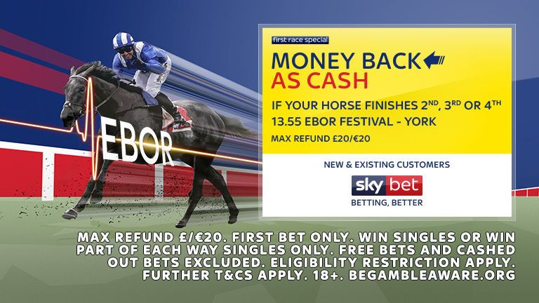 Ebor FRS - Money Back if 2nd, 3rd or 4th