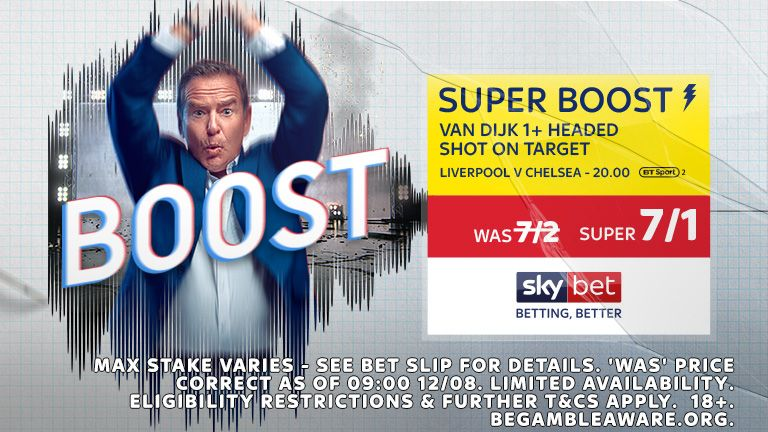 Sky Bet LIVvCHE Super Boost