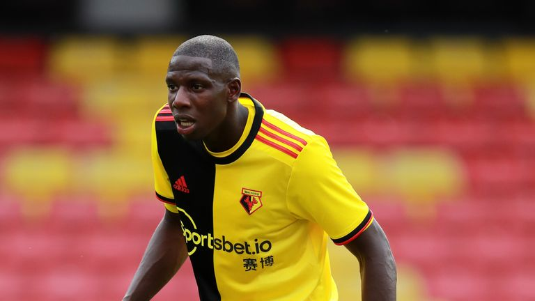 Abdoulaye Doucoure played in Watford's pre-season friendly victory over Real Sociedad on Saturday