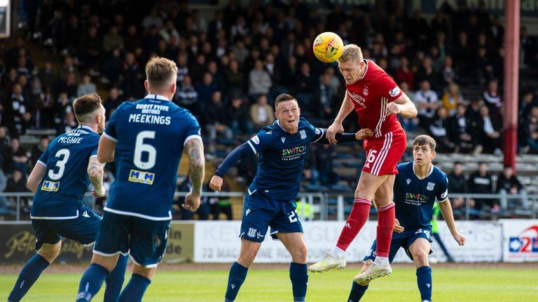 Aberdeen's Sam Cosgrove scored the winning goal in extra time