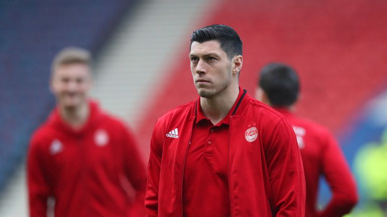 Aberdeen defender Scott McKenna is hoping to leave the Pittodrie side this summer.