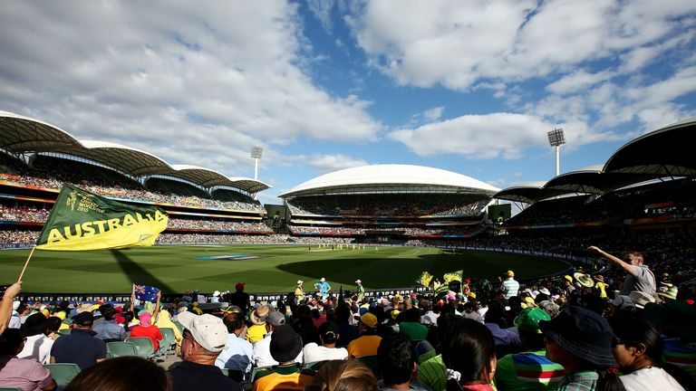 The 55,000-capacity Adelaide Oval is widely regarded as one of the most picturesque stadiums in world cricket
