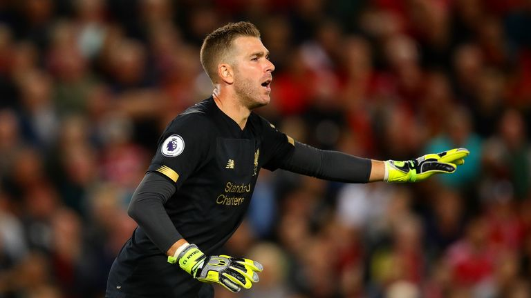 Adrian made an unexpected Liverpool debut during their 4-1 win over Norwich on Friday