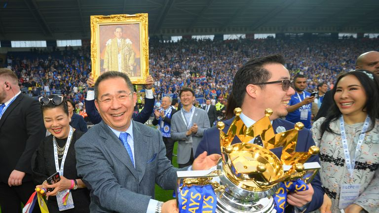Leicester won the Premier League under Vichai Srivaddhanaprabha's ownership