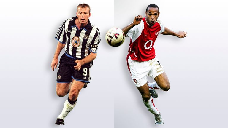 Alan Shearer vs Thierry Henry: Who was the better Premier League striker?