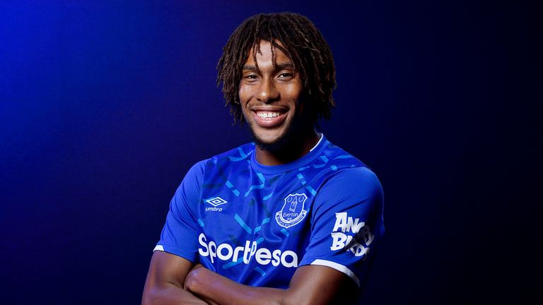 Alex Iwobi left Arsenal for Everton on deadline day