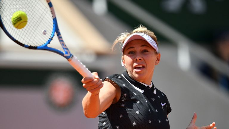 Amanda Anisimova flies into last eight of Silicon Valley Classic