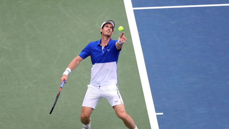 Andy Murray defeated on singles return at Cincinnati Masters