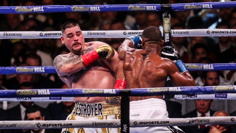 Joshua will rematch Ruiz Jr on December 7