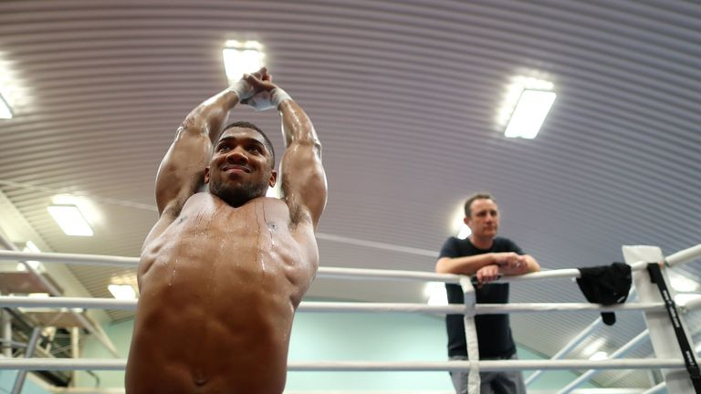 McCracken oversaw Joshua becoming world champion