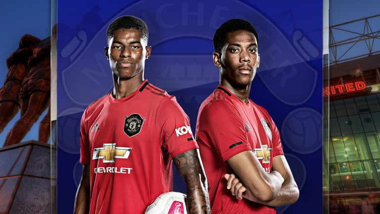 Anthony Martial and Marcus Rashford are leading Manchester United's frontline this season