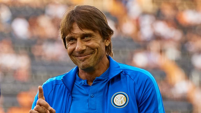 Antonio Conte was named Inter Milan manager over the summer, his first job since leaving Chelsea