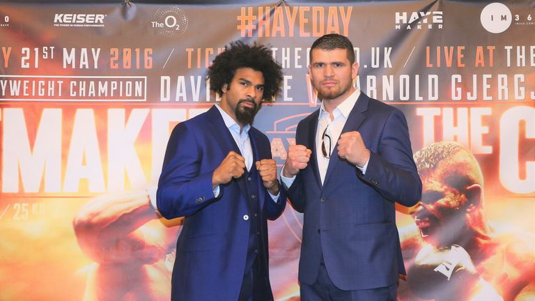 Camkiran went the distance for first time against Arnold Gjergjaj, a former opponent for David Haye