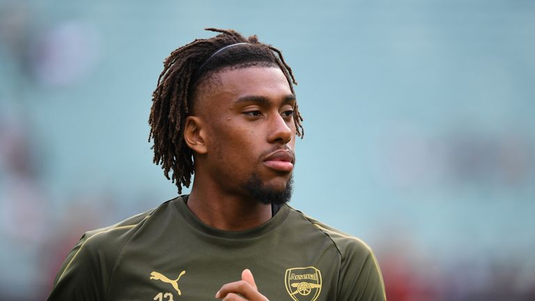 Arsenal have reportedly rejected a bid of £30m for midfielder Alex Iwobi