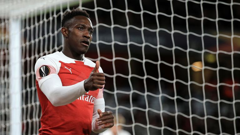Former Arsenal forward Danny Welbeck could be set for a move to Watford